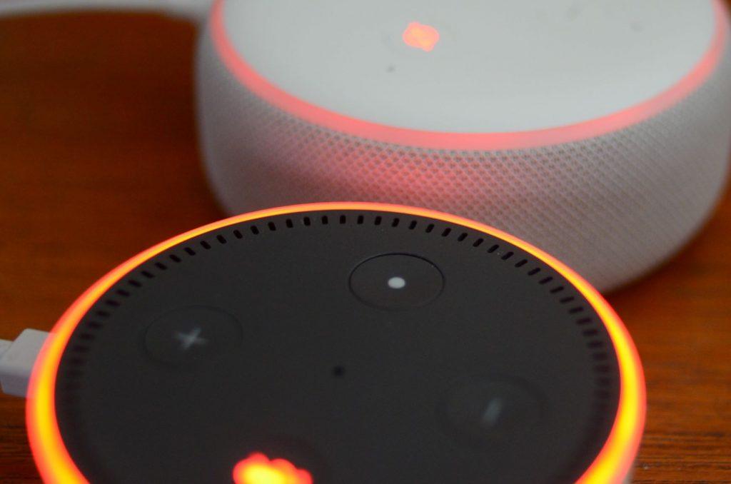 Smart Home Amazon Echo Device