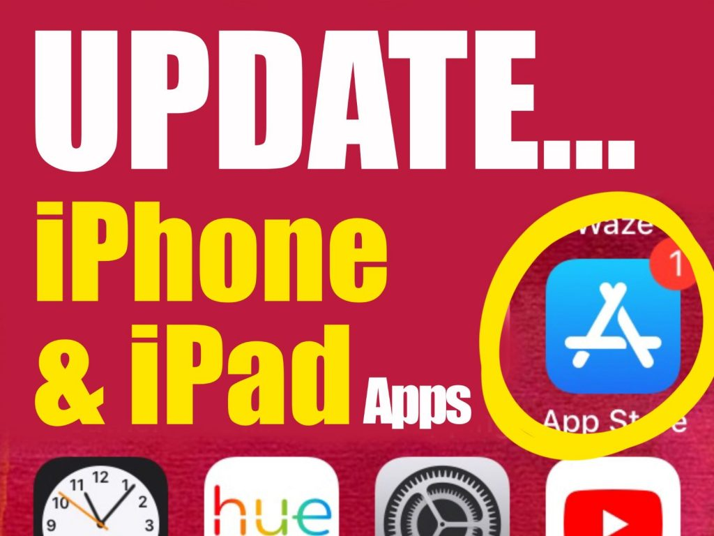 How to update Apps on iPhone